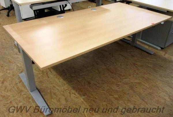 K & N - Steh- Sitz- Schreibtisch 200 x 100 cm
