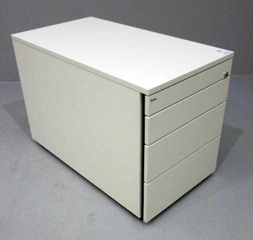 Bene - Rollcontainer T 80 cm, weiß
