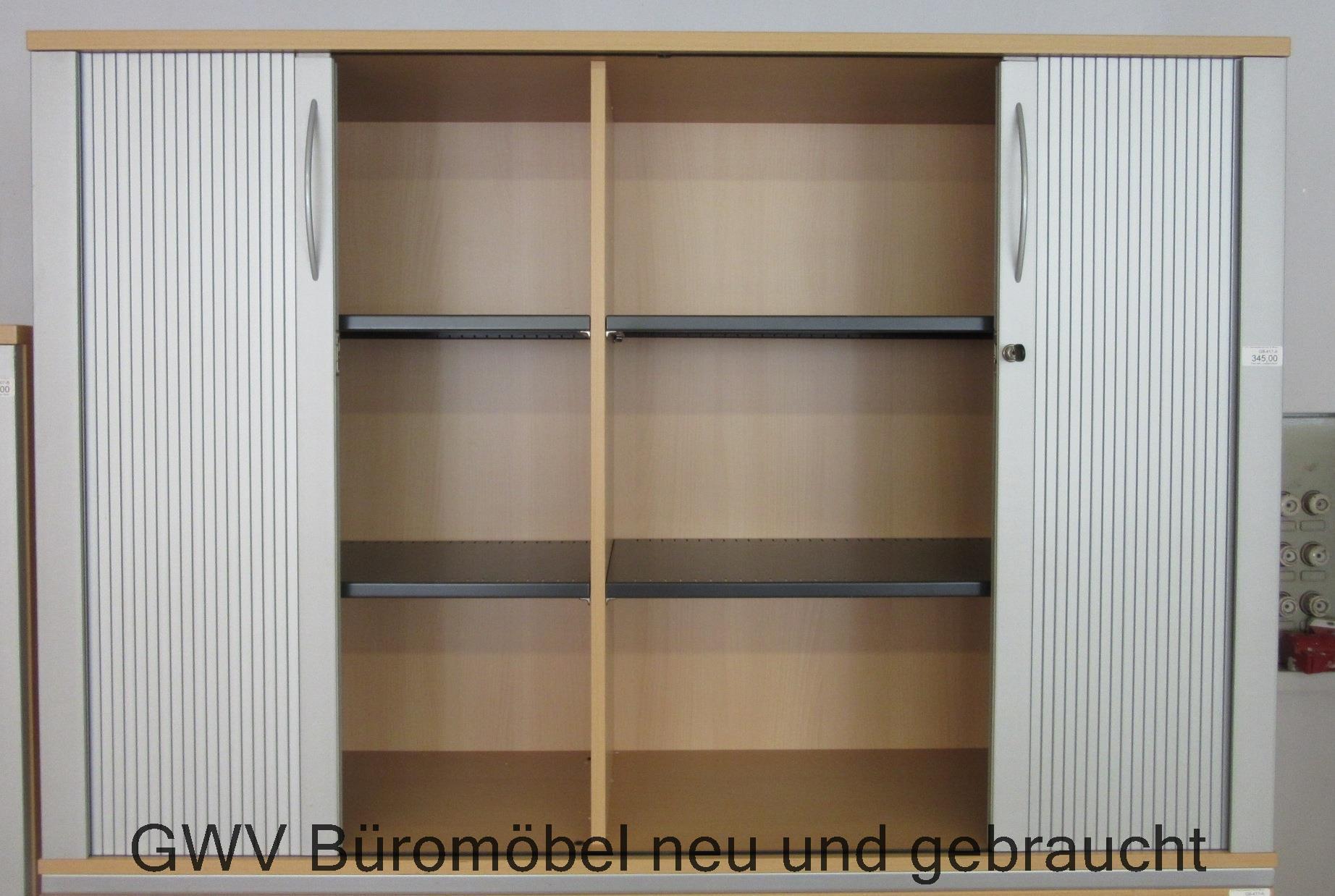 aktenschrank sideboard b ro offic stauraum jalousieschrank. Black Bedroom Furniture Sets. Home Design Ideas