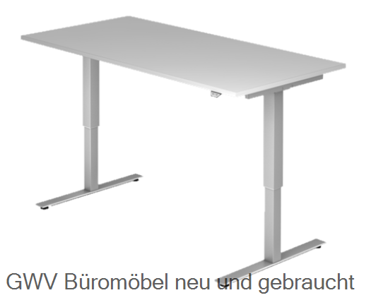 Steh- Sitz- Schreibtisch 160 x 80 cm