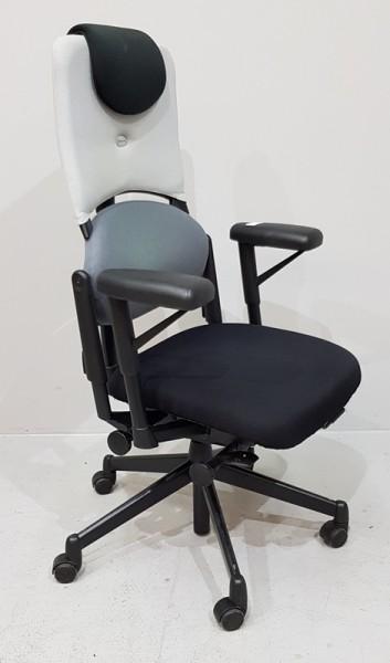 Steelcase - Bürodrehstuhl grau / schwarz m. AL