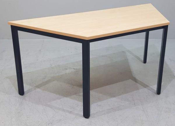 Trapeztisch 160 x 70 cm, wildbirne