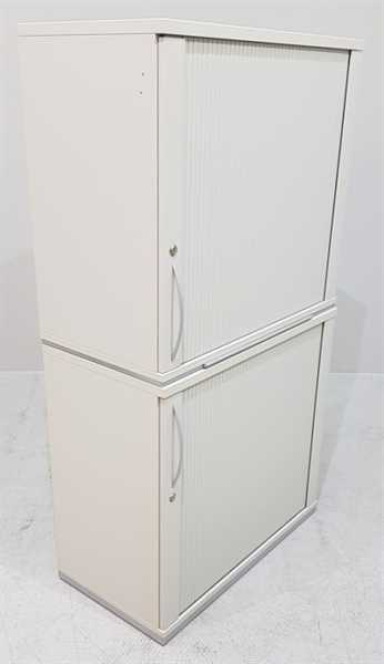 K & N - Querrolloschrank 4 OH, B 80 cm grau