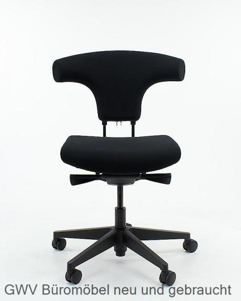 ergonom. Bürodrehstuhl schwarz