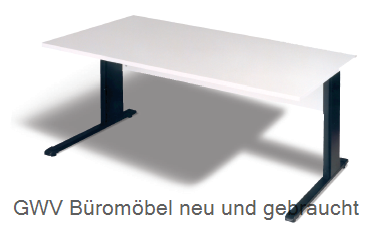 Schreibtisch B 80 cm, grau