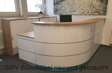wir bieten empfangstheken empfangsmoebel guenstig neu und gebraucht bueromoebel nuernberg von. Black Bedroom Furniture Sets. Home Design Ideas