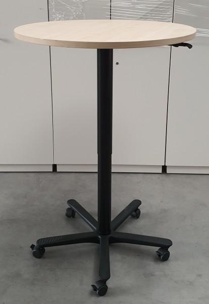 FM - Besprechungstisch - Steh- Sitz D 80, ahorn
