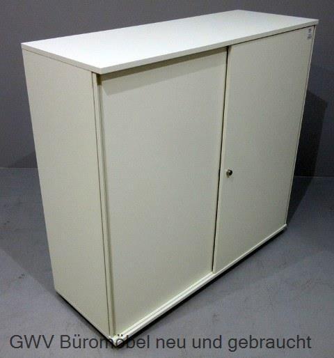 Bene - Schiebetürenschrank 3 OH, B 120 cm weiß