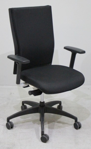 Werndl - Bürodrehstuhl schwarz
