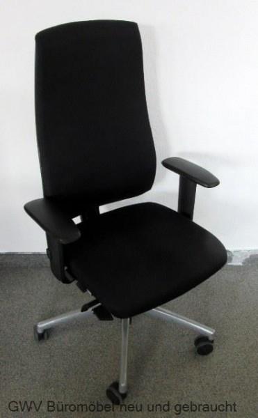 Interstuhl - Bürodrehstuhl grau