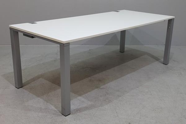 WINI - Schreibtisch 180 cm, weiß