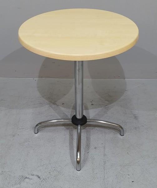 Bistrotisch D 60 cm, Platte marmoriert