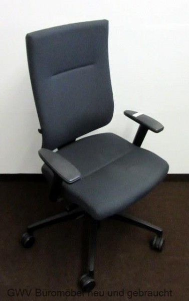 Bürostuhl drehstuhl buerostuhl grau dauphin armlehnen gebraucht ...