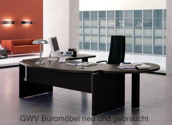Chefzimmer Sinetica neu | GWV Büromöbel gebraucht - sofort lieferbar