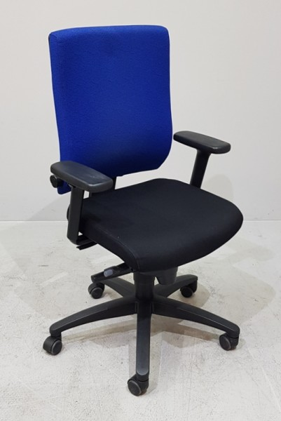 Dauphin magic - Bürodrehstuhl schwarz / blau