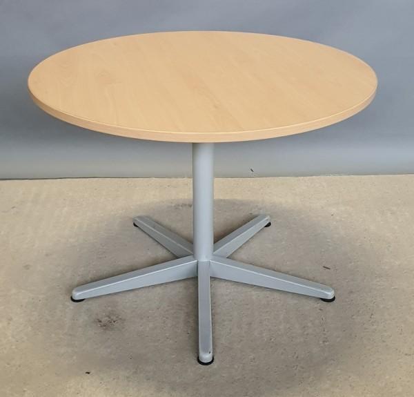 Steelcase - Besprechungstisch D 100 cm, buche