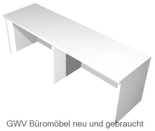 Thekenaufsatz für Schreibtische B 120 cm, grau