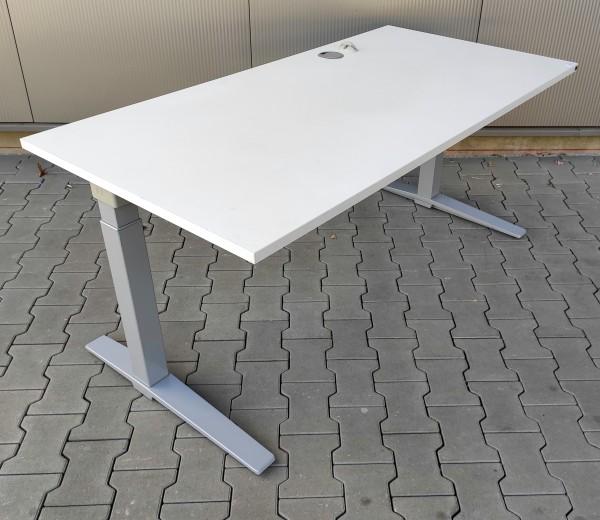 K & N - Schreibtisch 160 cm, lichtgrau