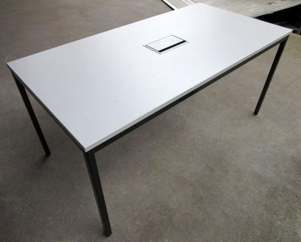 Besprechungstisch 160 cm, grau