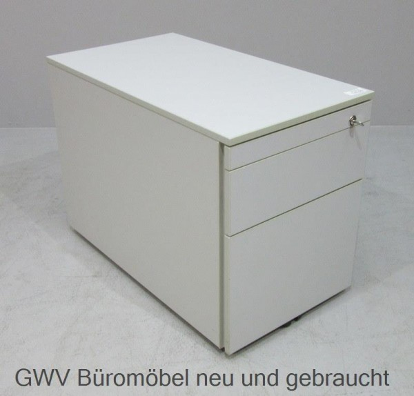 Dyes - Rollcontainer T 80 cm, grau