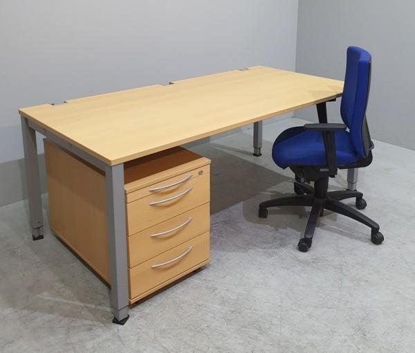 K & N - Set 3-teilig - Tisch + Container + Stuhl