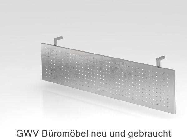 Knieraum-Sichtblende silber, B 155 cm