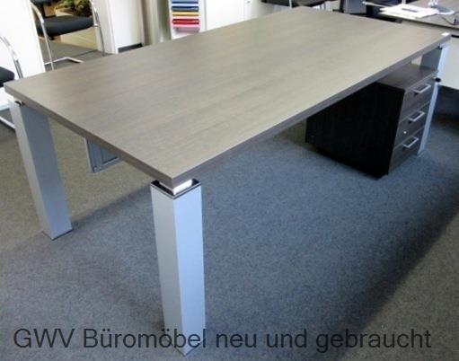 TAO Schreibtisch Chefbuero | GWV Büromöbel gebraucht - sofort lieferbar