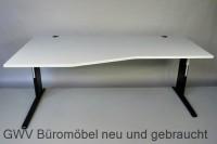 RTR - Freiform- Schreibtisch 200 cm, Links