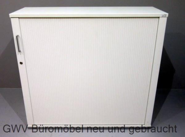 K & N - Querrolloschrank 3 OH, B 120 cm weiß