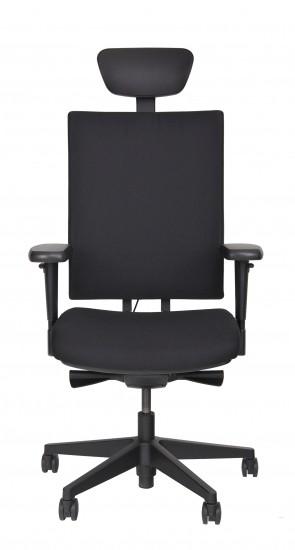 Bürodrehstuhl - Porto -extra hoch, Kopfst./Farbe