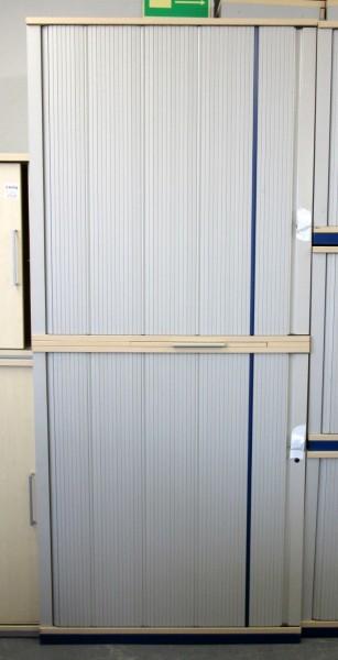 Werndl - Querrolloschrank 6 OH, B 100 cm ahorn