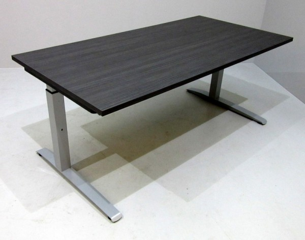 fm - Schreibtisch 160 x 80 cm, weiß - hacienda