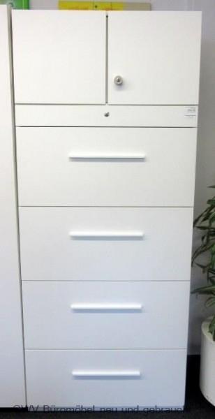 Febrü - Hängeregister-Schrank, B 80 cm weiß