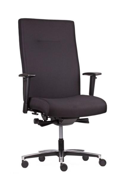 Bürodrehstuhl XL bis 200 kg, schwarz