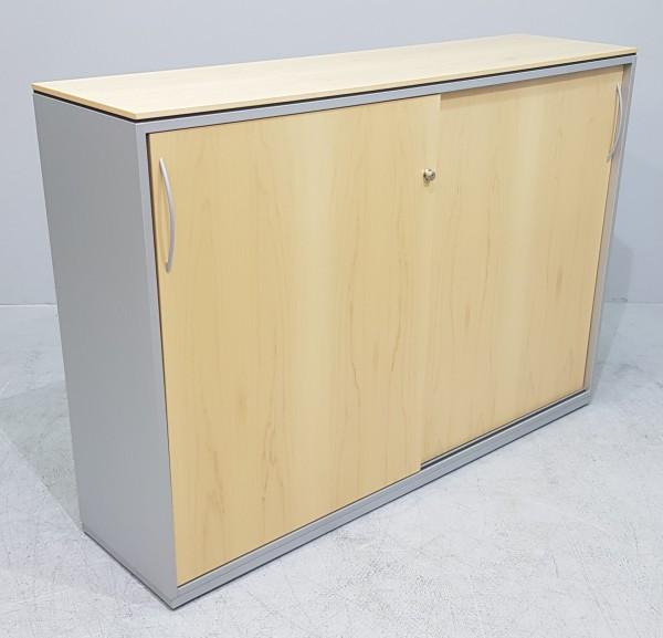 K & N - Schiebetürenschrank 3 OH, B 160 cm buche