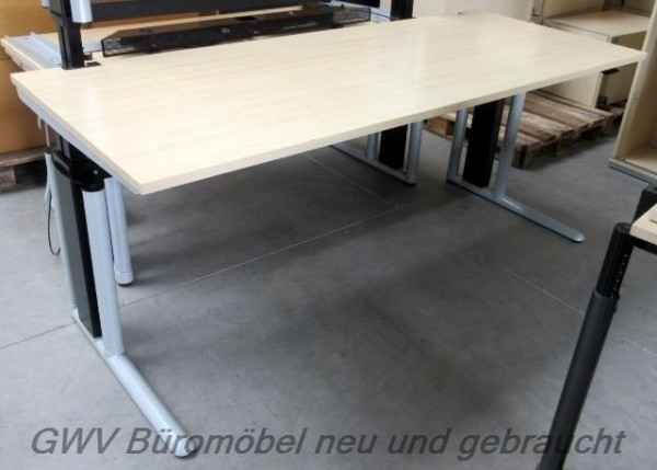 werndl schreibtisch tisch buerotisch ahorn 200 cm 80 cm. Black Bedroom Furniture Sets. Home Design Ideas