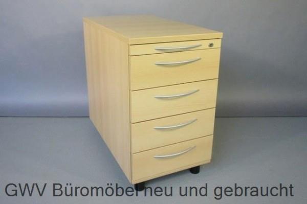 K & N - Standcontainer T 80 cm, ahorn   GWV Büromöbel gebraucht ...