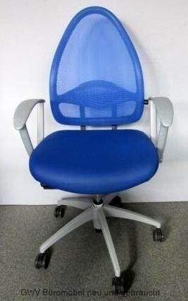 Express 06-17 - Bürodrehstuhl blau