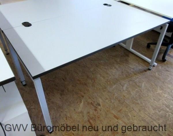 februe schreibtisch weiß 160 x 80 cm neuware gebraucht | GWV ...