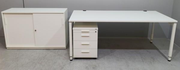 Febrü - Schreibtisch + Cont. + Sideboard