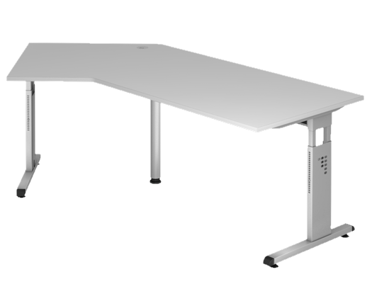 Freiform- Schreibtisch 210 x 113 cm, HV