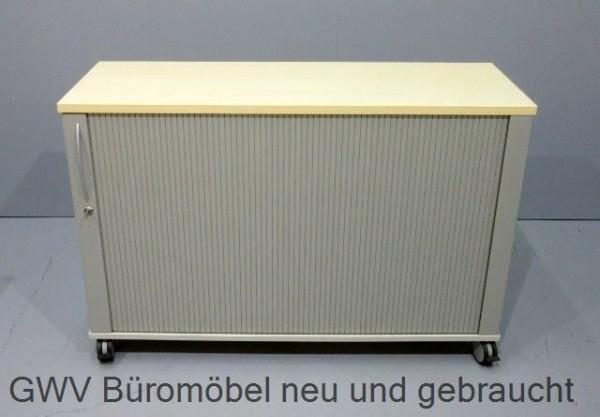 K & N - Querrolloschrank 2 OH, B 120 cm ahorn