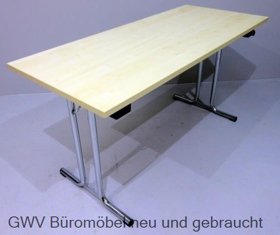 Klapptisch 140 x 60 cm, ahorn