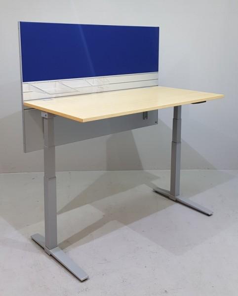 K & N - Steh-Sitz-Schreibtisch 160cm, Liftmechanik