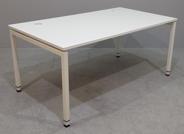 Febrü - Schreibtisch/Trento 160 x 90 cm, weiß