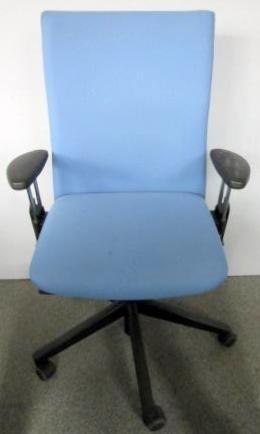 Comforto - Bürodrehstuhl taubenblau