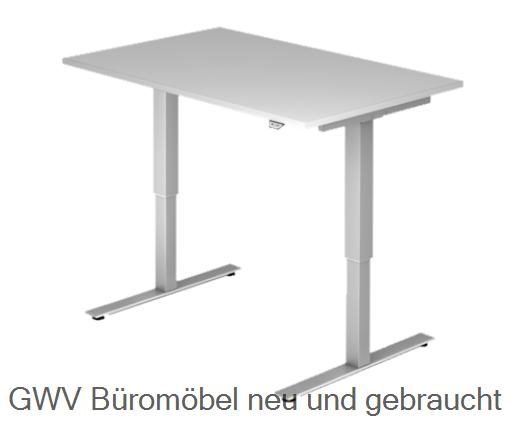 Steh- Sitz- Schreibtisch 120 x 80 cm