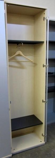 K & N - Kleiderschrank 6 OH, B 60 cm ahorn