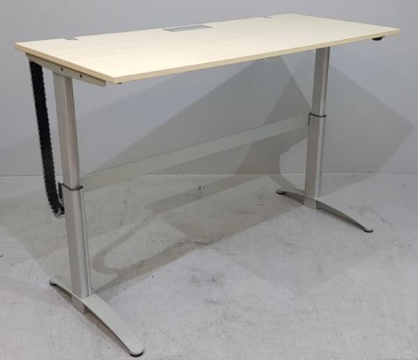 CEKA - Steh- Sitz- Schreibtisch 180 cm, ahorn
