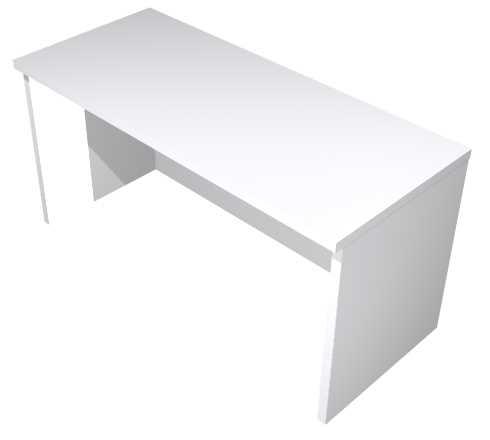 Thekenaufsatz für Schreibtische B 80 cm, grau